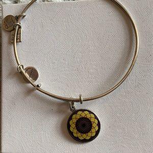 """Flower"" Alex and Ani Bracelet"